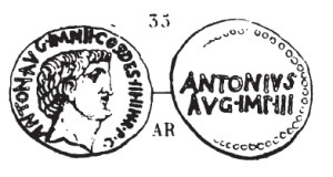 Denier Marc Antoine _ RRC 542/2