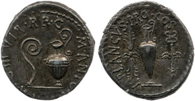 Read more about the article 1702AN – Denier Marc Antoine – Lucius Munatius Plancus