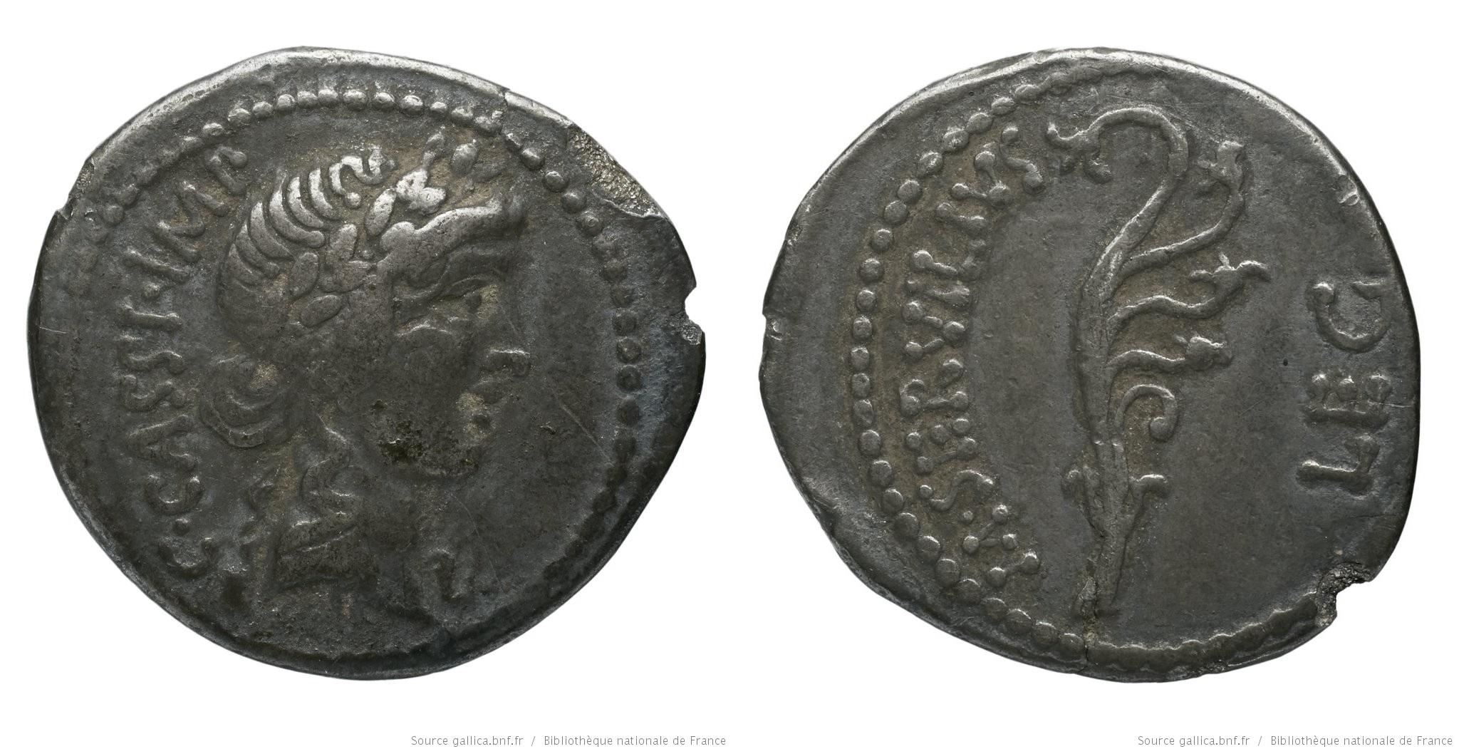 1648CA – Denier Cassius – Marcus Servilius