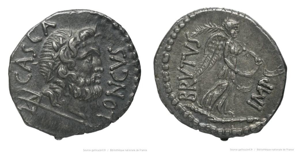 1656JU – Denier Brutus – Publius Servilius Casca