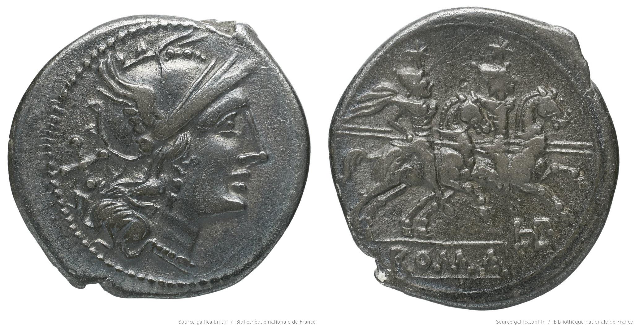 546PL – Denier Plautia – Lucius Plautius Hypsaeus