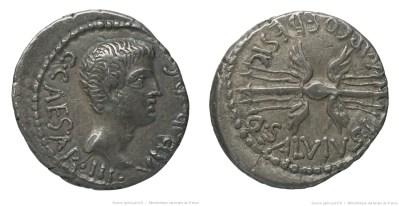 1705JU – Denier Octave _ Quintus Salvius