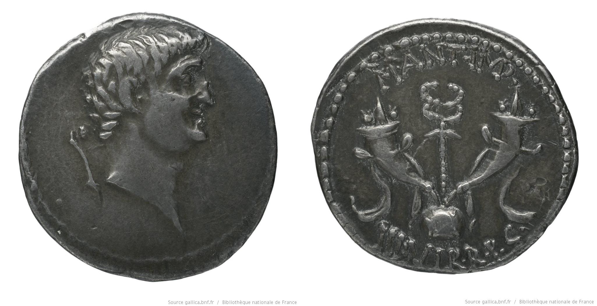 1698AN – Denier Marc Antoine – Marcus Antonius
