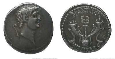 1698AN – Denier Marc Antoine – Marcus Antonius