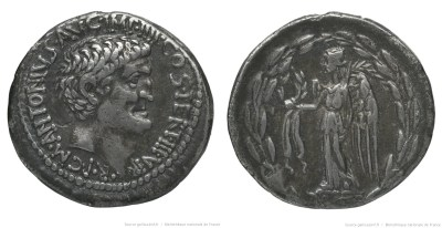 1798AN – Denier Marc Antoine – Marcus Antonius