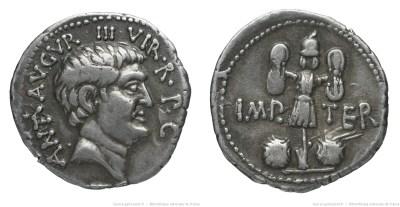1738AN – Denier Marc Antoine – Marcus Antonius