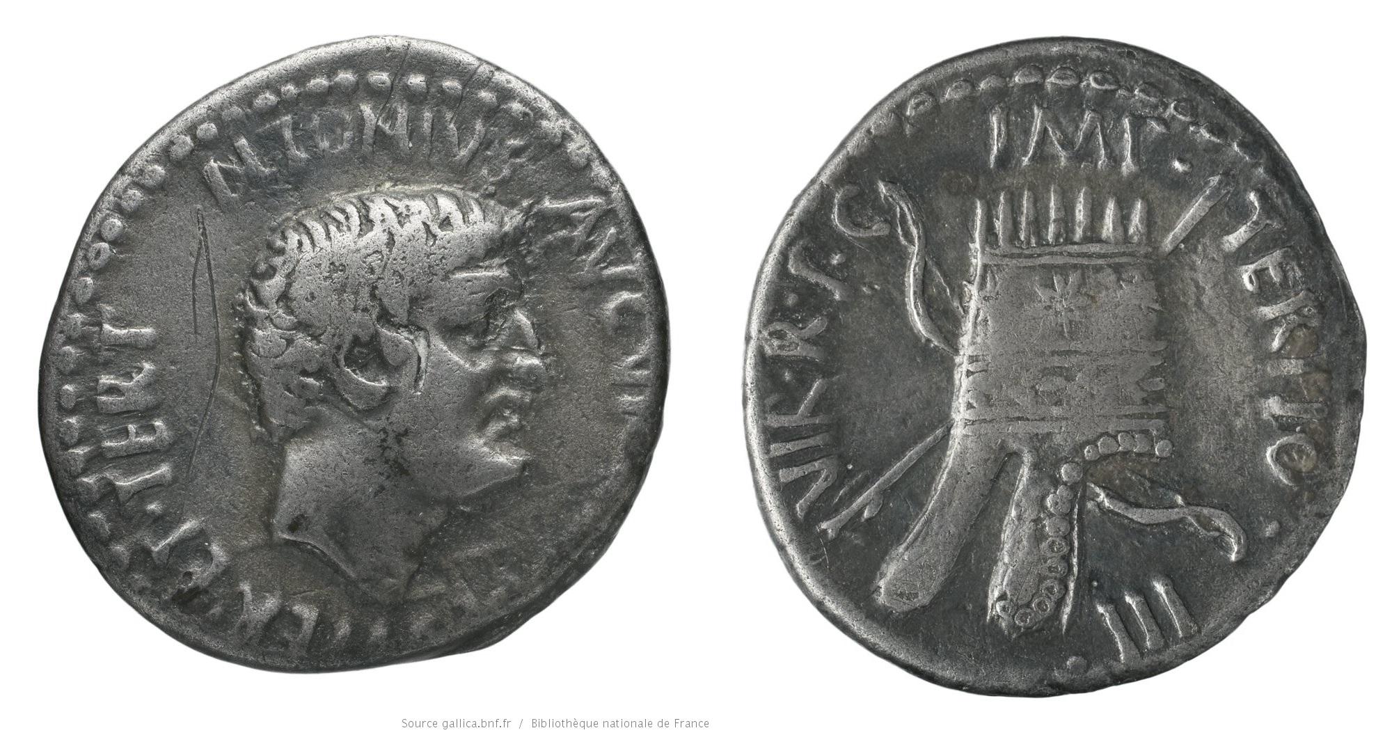 1743AN – Denier Marc Antoine – Marcus Antonius