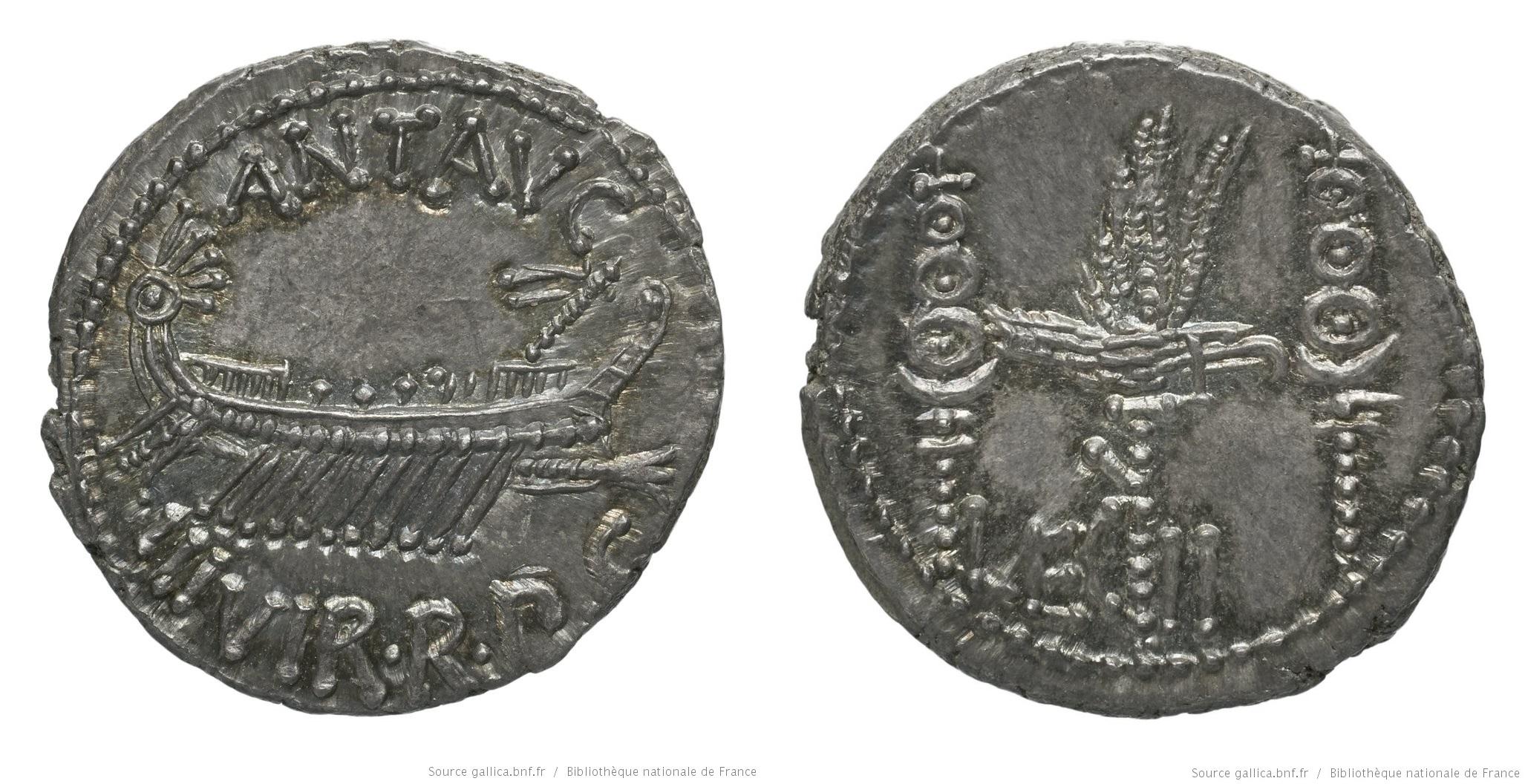 1764AN – Denier Marc Antoine – Marcus Antonius