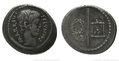 1674AR – Denier Arria – Marcus Arrius Secundus