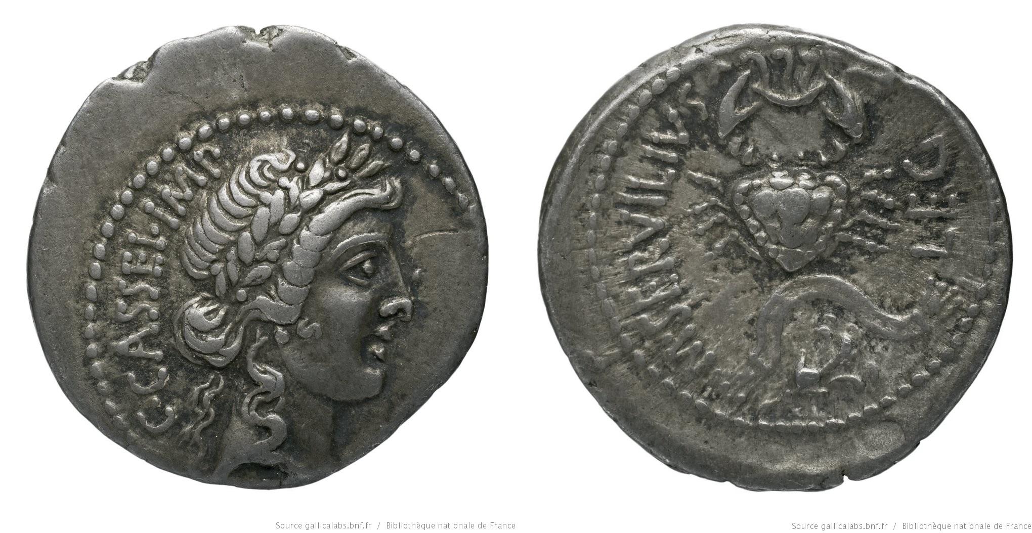 1649CA – Denier Cassius – Marcus Servilius