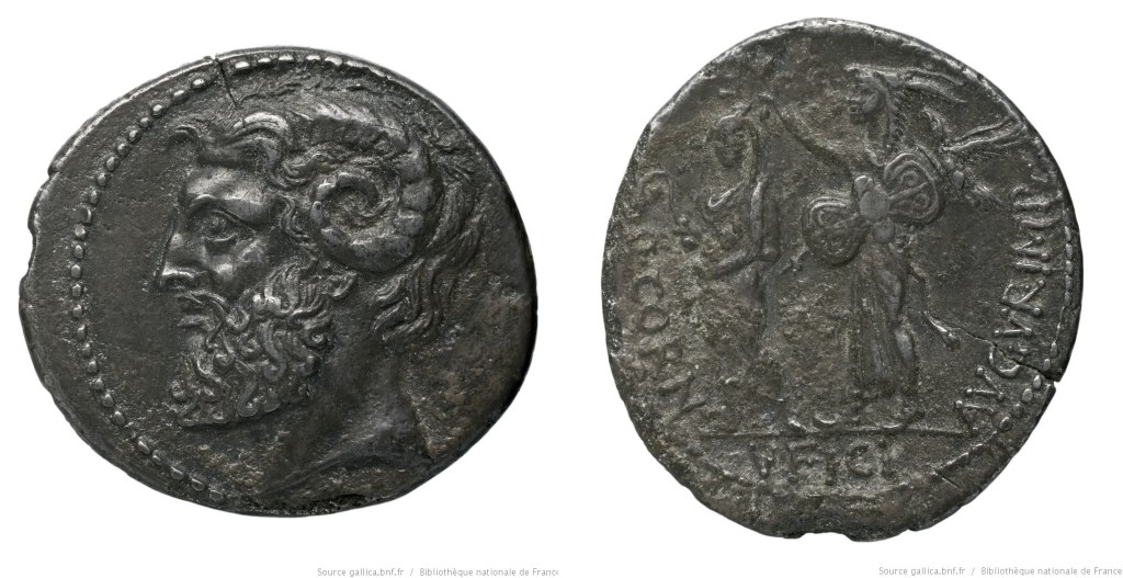 1661CO – Denier Cornuficia – Quintus Cornuficius