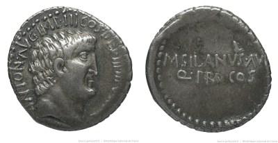 1748AN – Denier Marc Antoine – Marcus Silanus