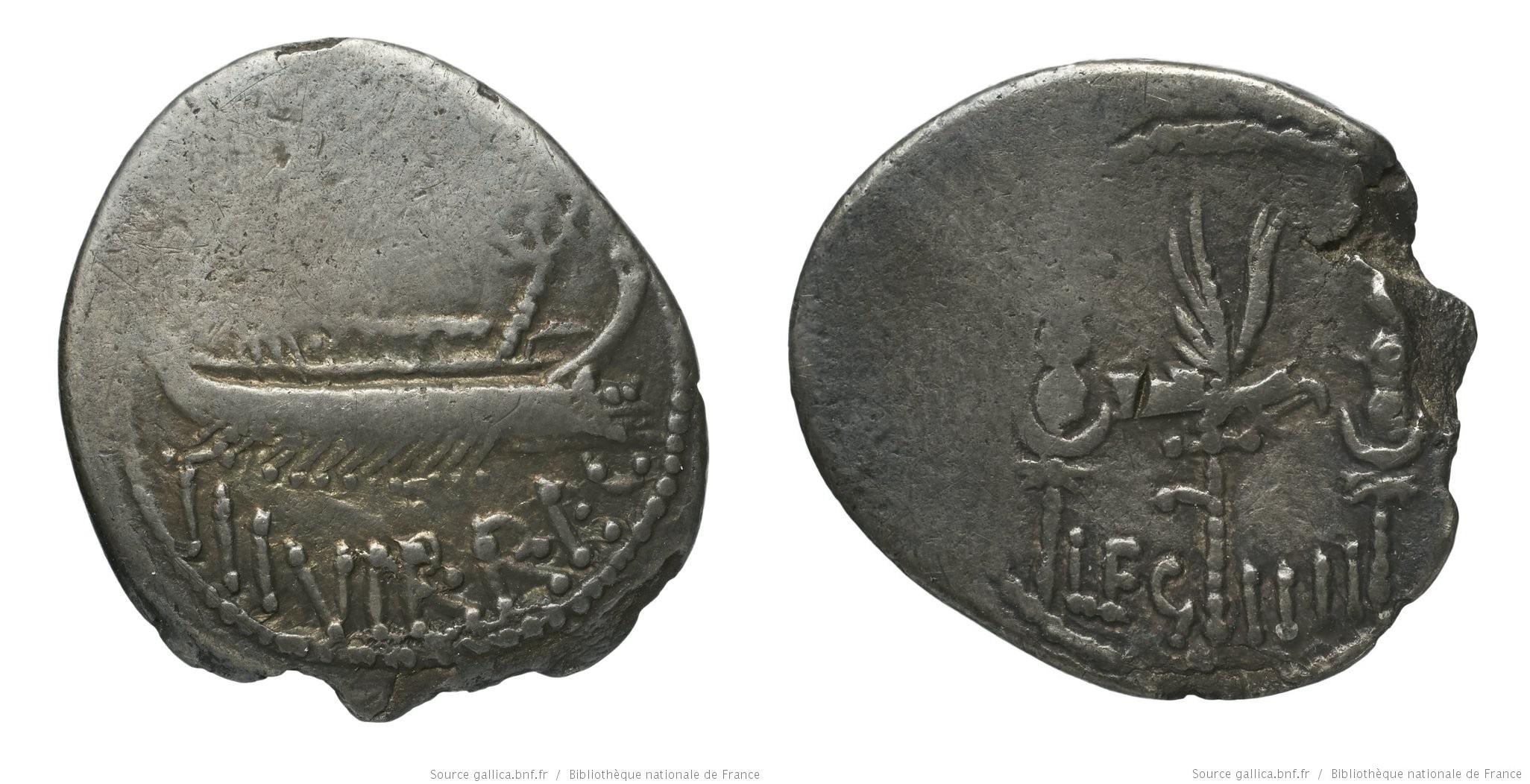 1766AN – Denier Marc Antoine – Marcus Antonius