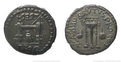 1644JU – Quinaire Brutus – Lucius Sestius