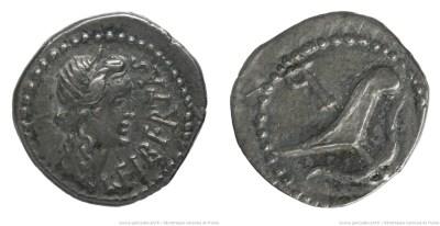 1654JU – Quinaire Brutus – Marcus Junius Brutus