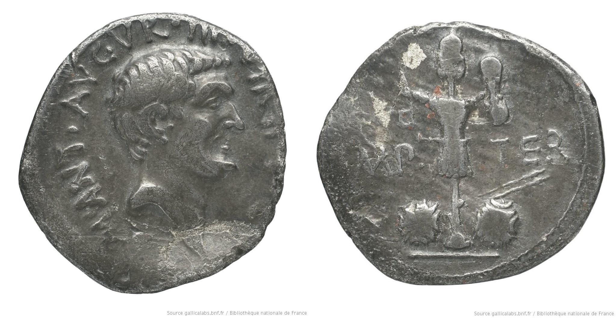 1735AN – Denier Marc Antoine – Marcus Antonius