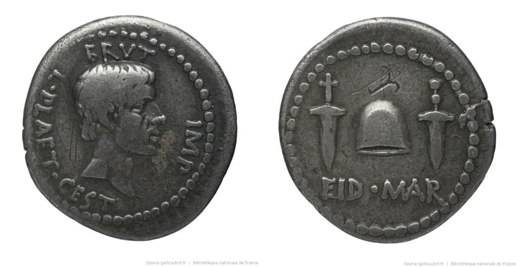 1659JU – Denier Brutus – L. Plaetorius Cestianus