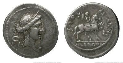 1383AE – Denier Aemilia – Marcus Æmilius Lepidus