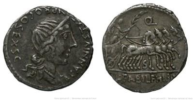 1291AN – Denier Annia – Caius Annius Luscus