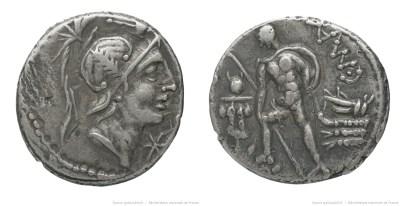 1181PO – Denier Poblicia – Caius Publicius Malleolus