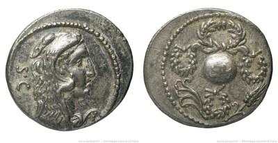 1399CO – Denier Cornelia – Faustus Cornelius Sylla