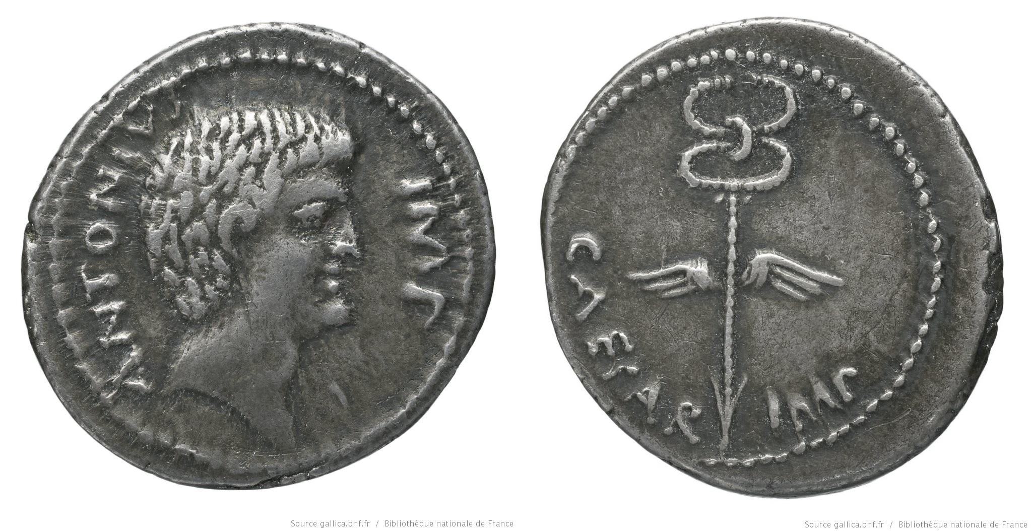 You are currently viewing 1722AN – Denier Octave et Marc Antoine – Caius Julius Cæsar Octavianus