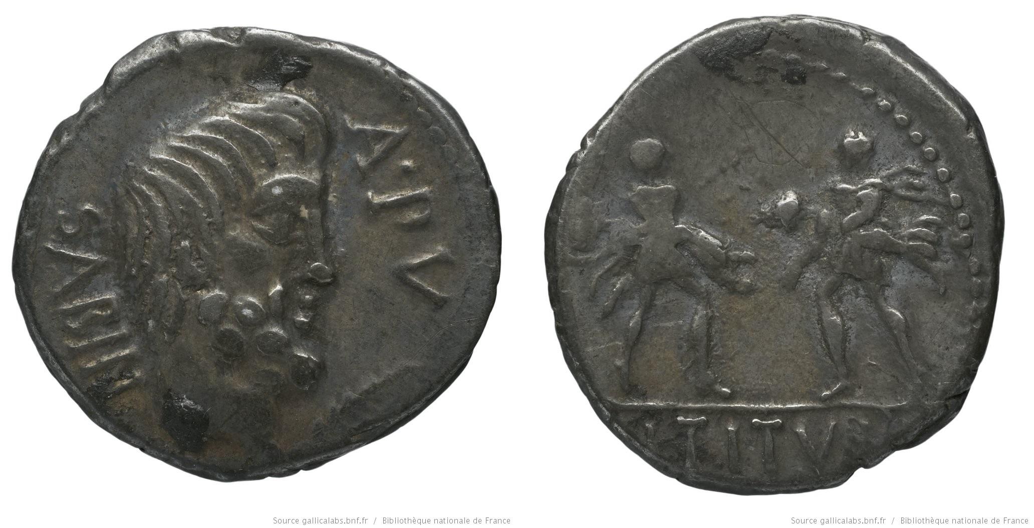 You are currently viewing 1232TI – Denier Tituria – Lucius Titurius Sabinus