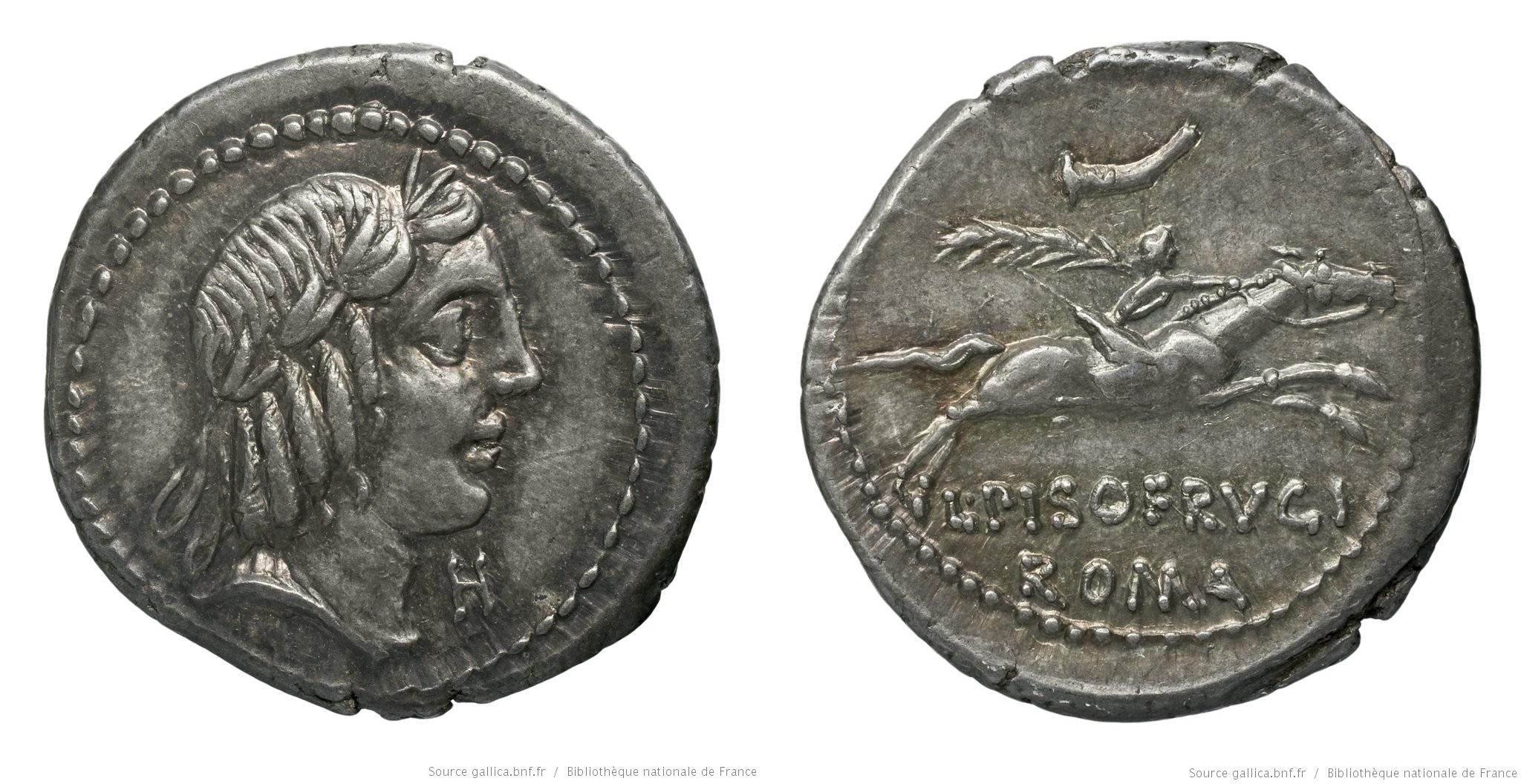 You are currently viewing 1205CA – Denier Calpurnia – Lucius Calpurnius Piso Frugi
