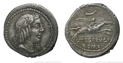 1205CA – Denier Calpurnia – Lucius Calpurnius Piso Frugi