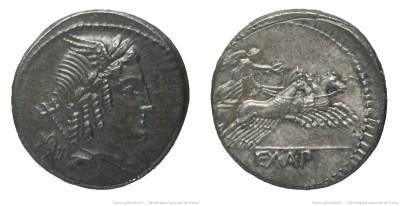 1266JU – Denier Julia – Lucius Julius Bursio