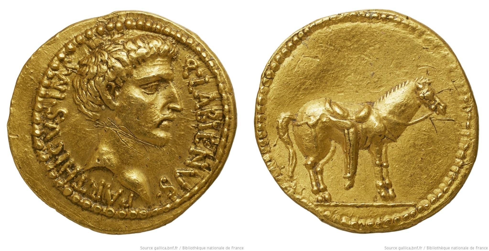 You are currently viewing 1706AT – Aureus Labienus – Quintus Labienus Parthicus