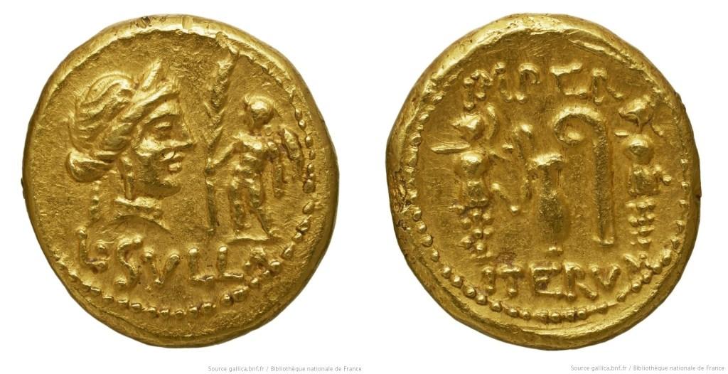 1280CO – Aureus Sylla – Lucius Cornelius Sulla