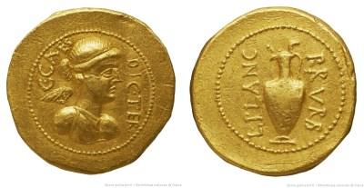 Read more about the article 1516JU – Aureus César – Lucius Munatius Plancus