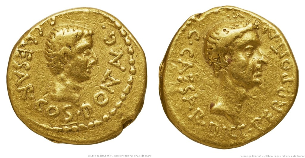 1571JU – Aureus Octave – Caius Julius Cæsar Octavianus