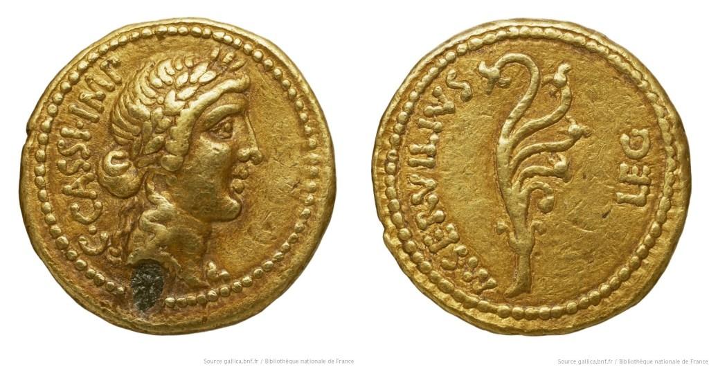 1647CA – Aureus Cassius – Marcus Servilius