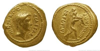 1581JU – Aureus Octave – Lucius Livineius Regulus