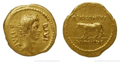 1712JU – Aureus Octave – Quintus Voconius Vitulus