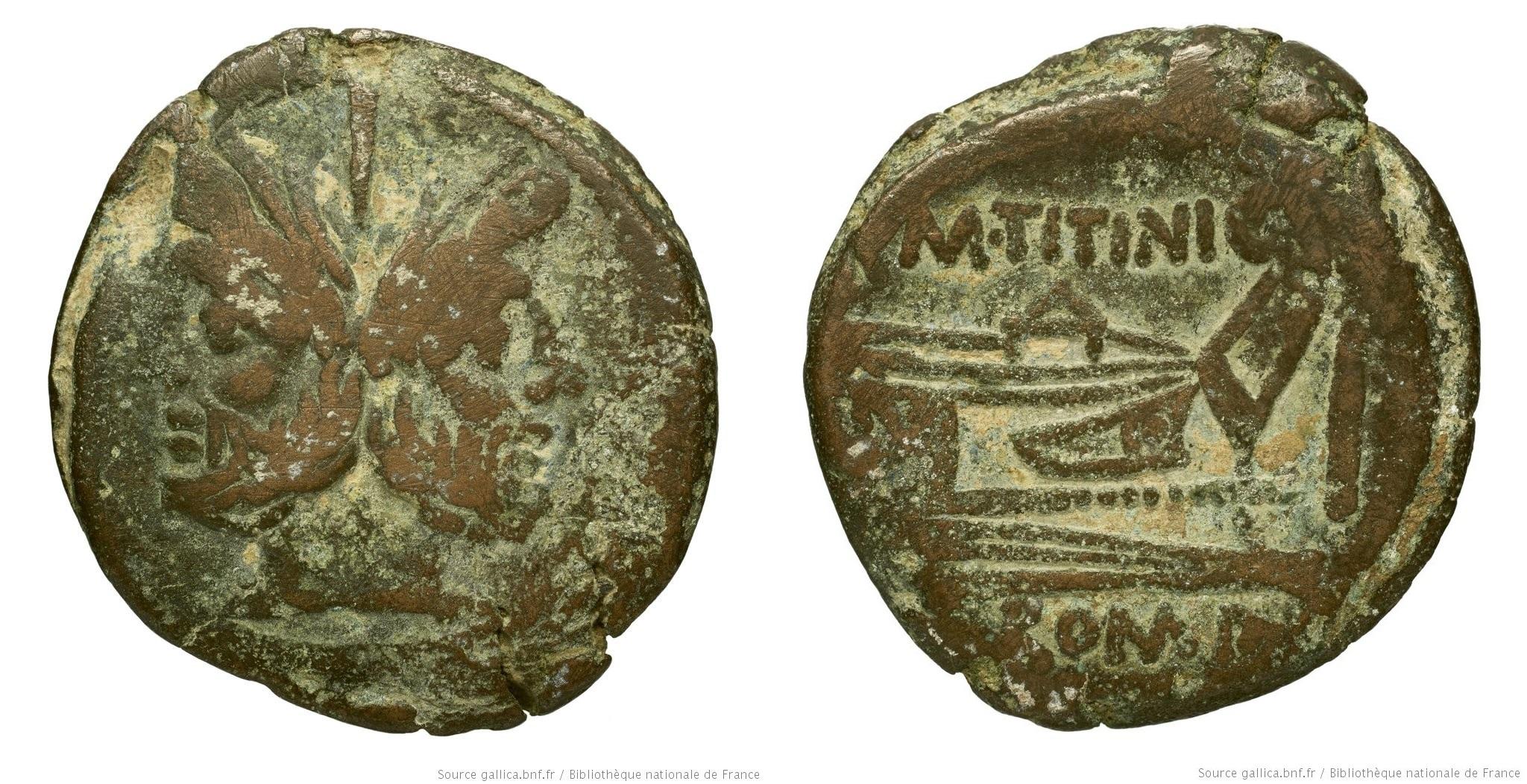 613TI – As Titinia – Marcus Titinius