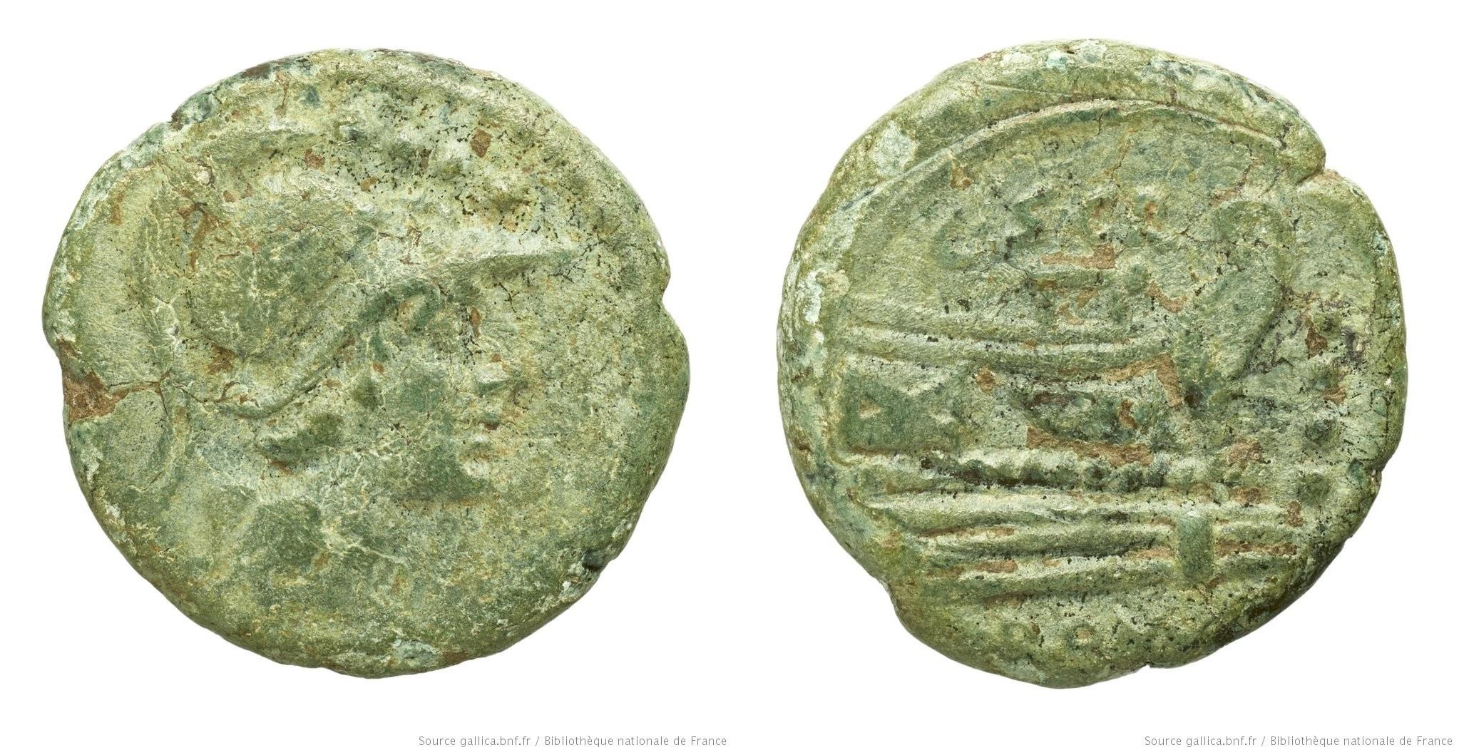 816SC – Triens Scribonia – Caius Scribonius
