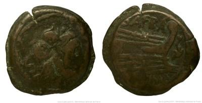 842AF – Semis Afrania – Spurius Afranius