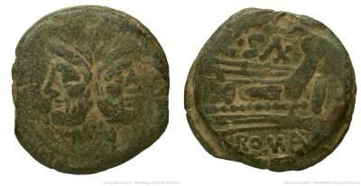 671CL – As Cluvia – C. Cluvius Saxula