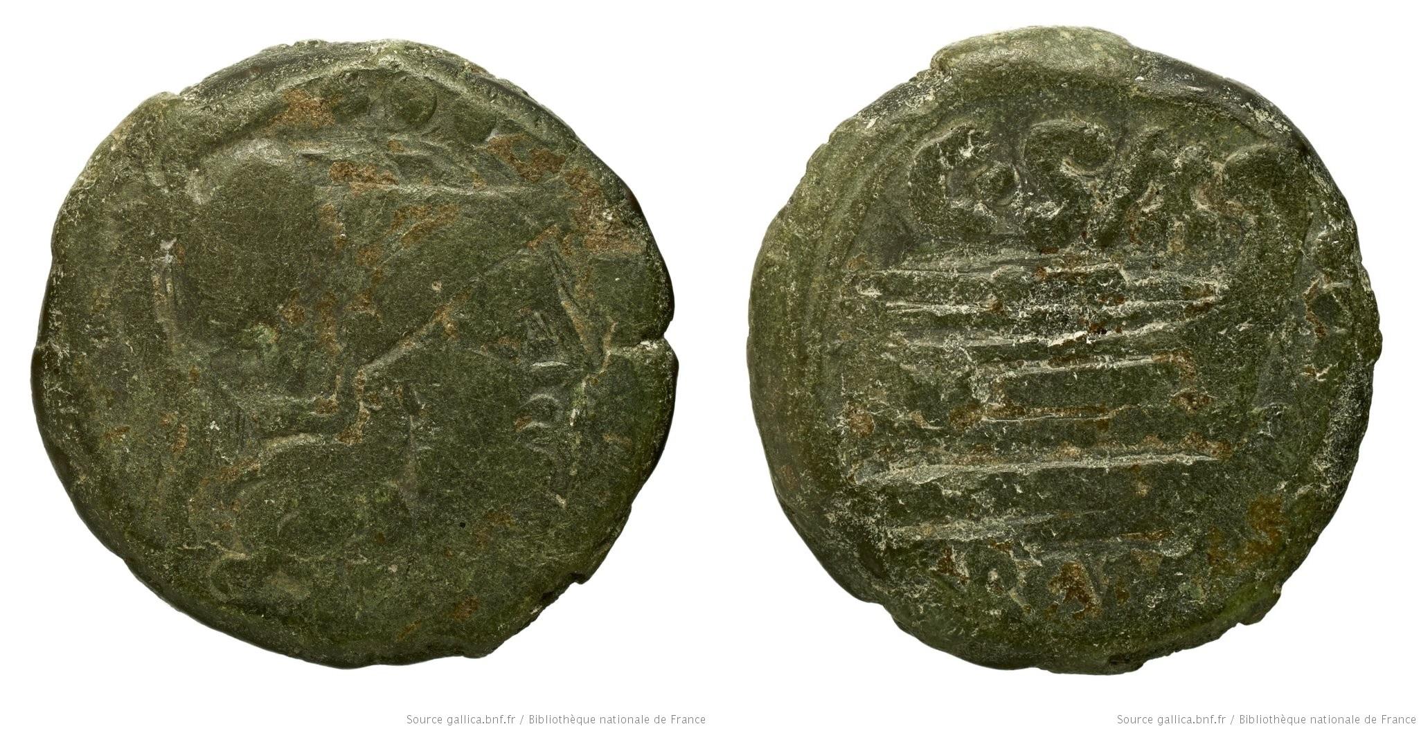 673CL – Triens Cluvia – C. Cluvius Saxula