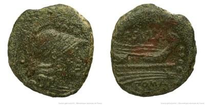 837CO – Triens Cornelia – Publius Cornelius Sulla