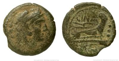 695CO – Quadrans Cornelia – L. Cornelius Cinna