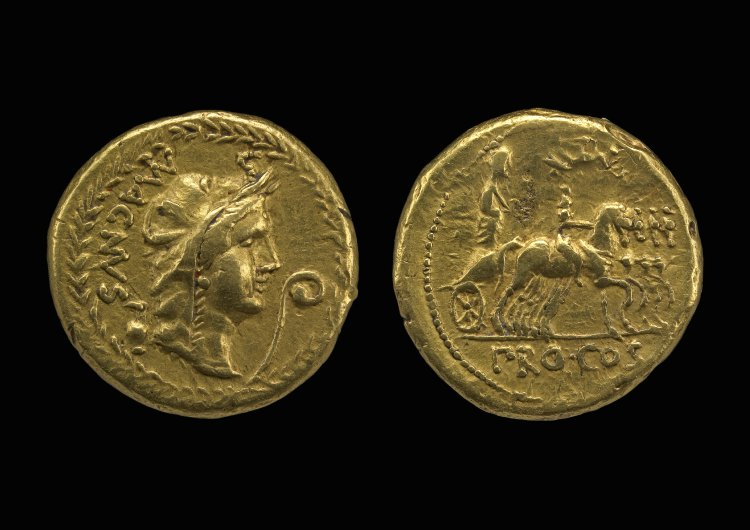 1346PO – Aureus Pompée le Grand