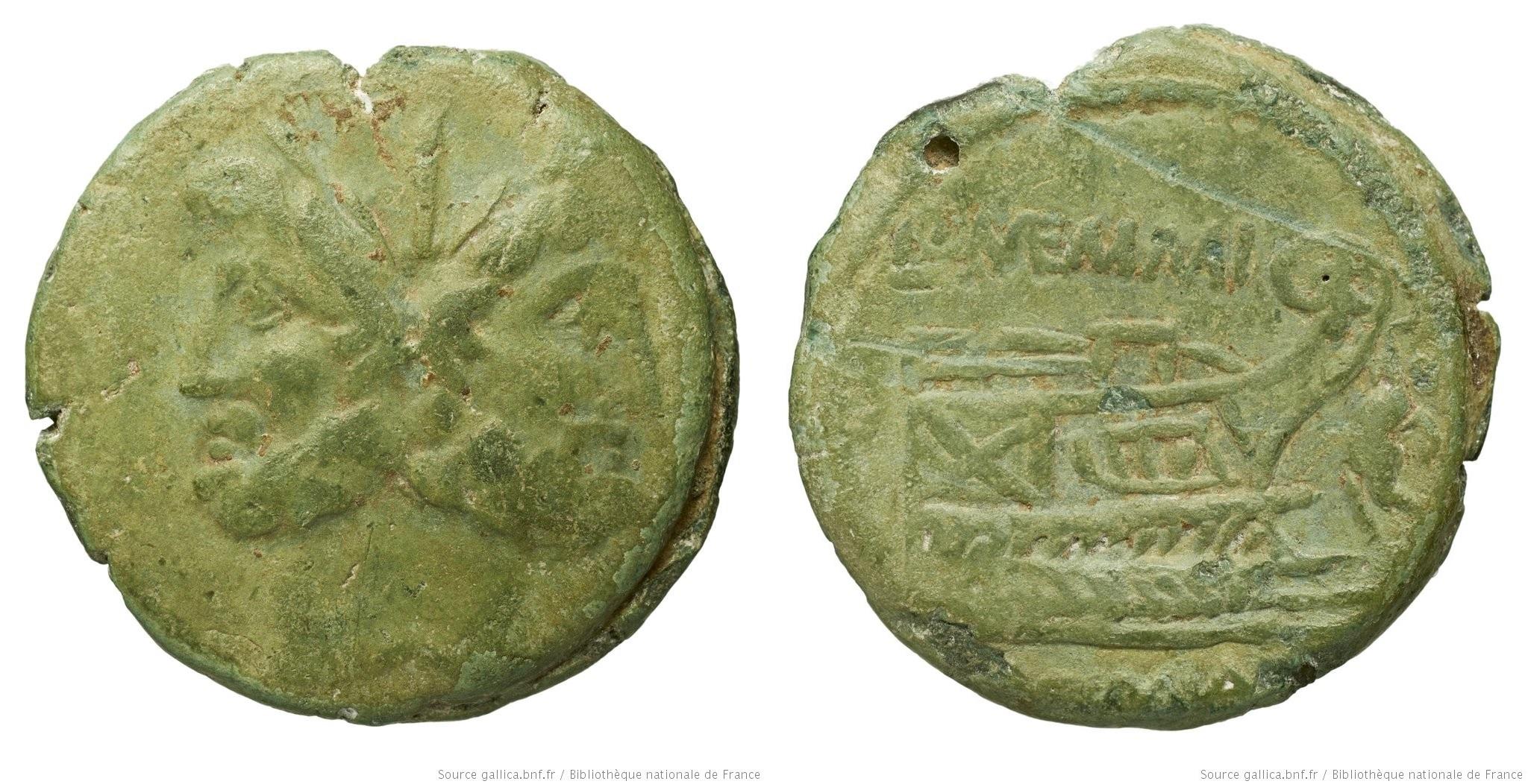 1138ME – As Memmia – Lucius Memmius Galerius