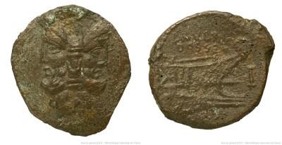 1254RU – As Rubria – Lucius Rubrius Dossenus