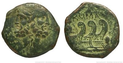 1225VI – As Vibia – Caius Vibius Pansa
