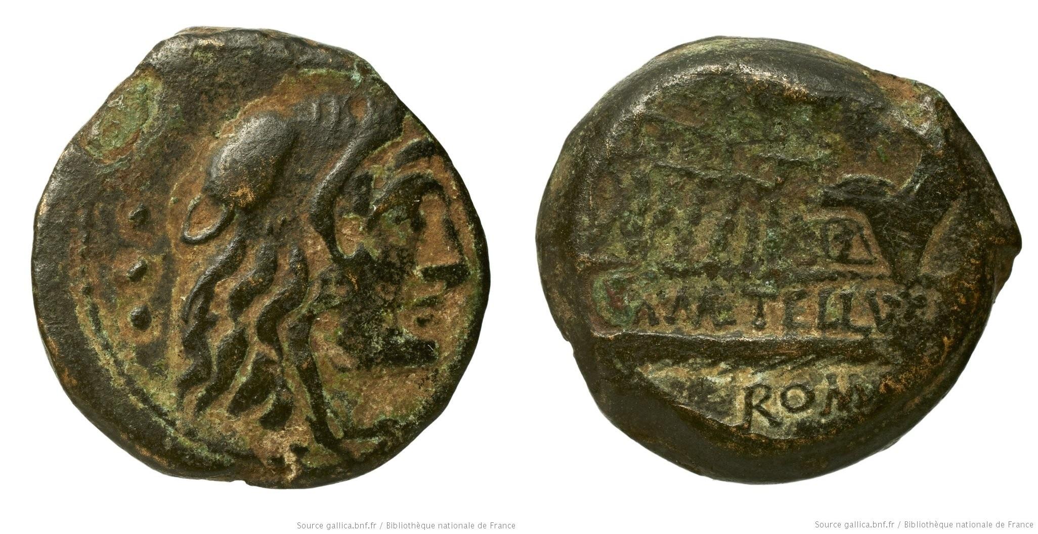 You are currently viewing 1023CA – Quadrans Caecilia – Marcus Cæcilius Metellus