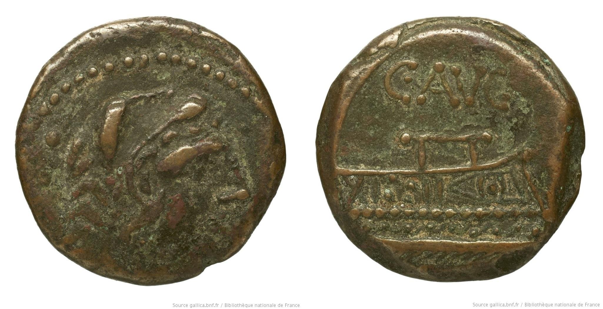 You are currently viewing 950MI – Quadrans Minucia –  Caius Minucius Augurinus
